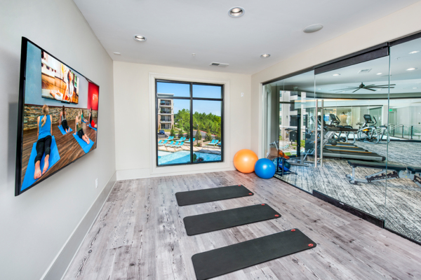 yoga at View at Woodstock Apartments