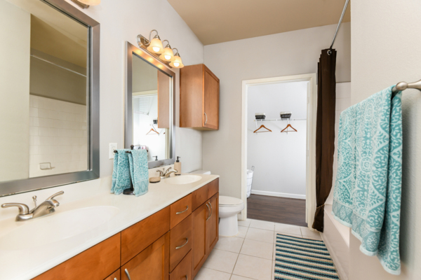 bathroom at Soho Parkway Apartments