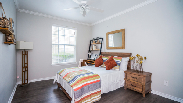 bedroom at Northchase Village Apartments