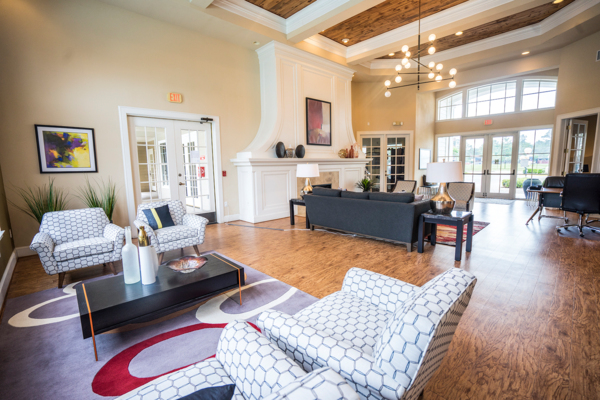 clubhouse/lobby at Northchase Village Apartments