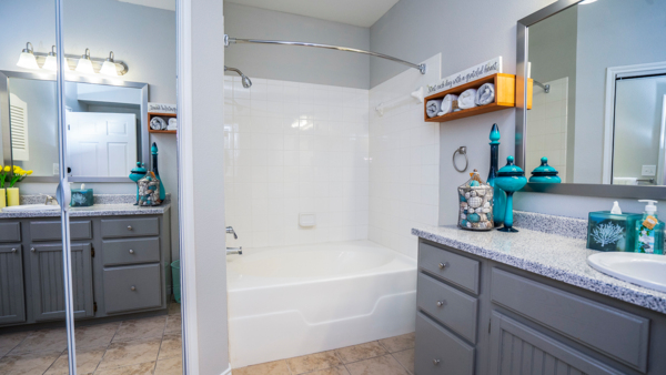 bathroom at Northchase Village Apartments
