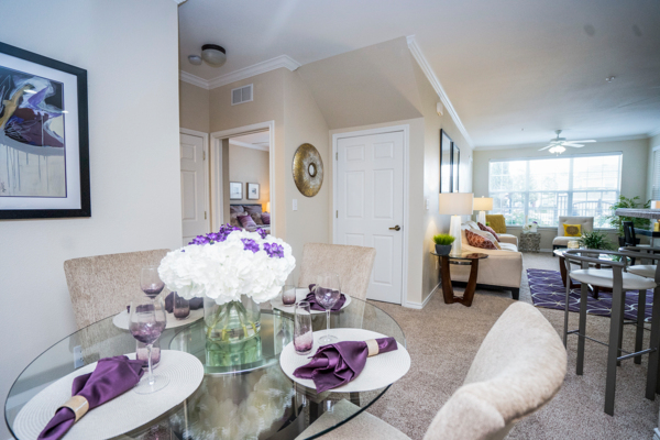 dining room at Northchase Village Apartments