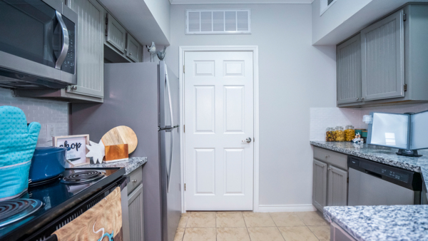 kitchen at Northchase Village Apartments