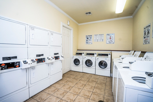 laundry facility at Northchase Village Apartments