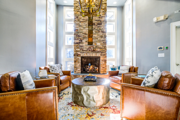 clubhouse/lobby at Avana Lake Norman Apartments