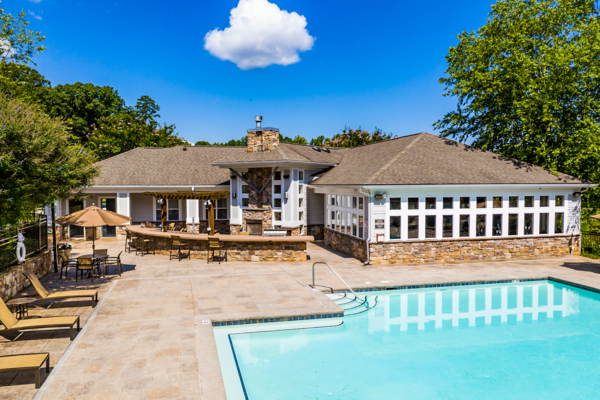 pool at Avana Lake Norman Apartments