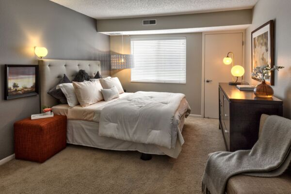 bedroom at Avana Addison Apartments