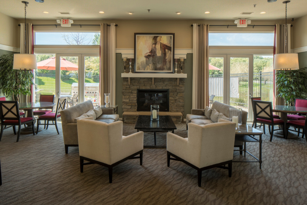 clubhouse at Avana Addison Apartments