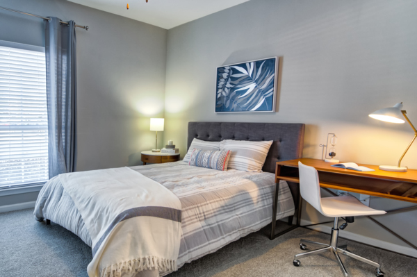 bedroom at Avana Cheshire Bridge Apartments