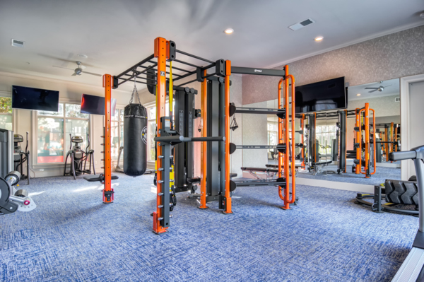fitness center at Avana Cheshire Bridge Apartments