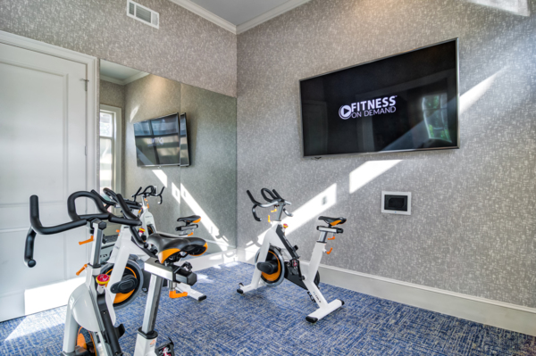 yoga/spin studio at Avana Cheshire Bridge Apartments