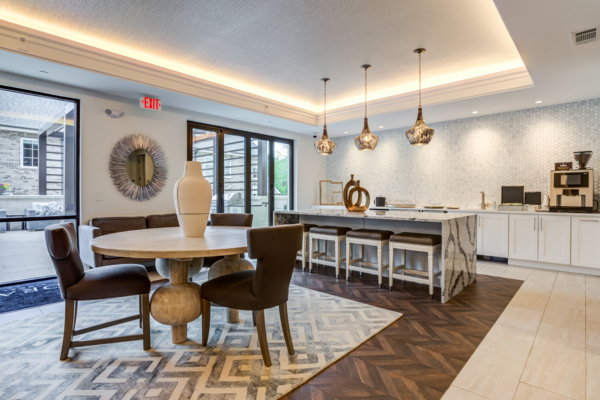 clubhouse at Draper Place Signature Apartment Homes
