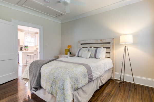 bedroom at Draper Place Signature Apartment Homes