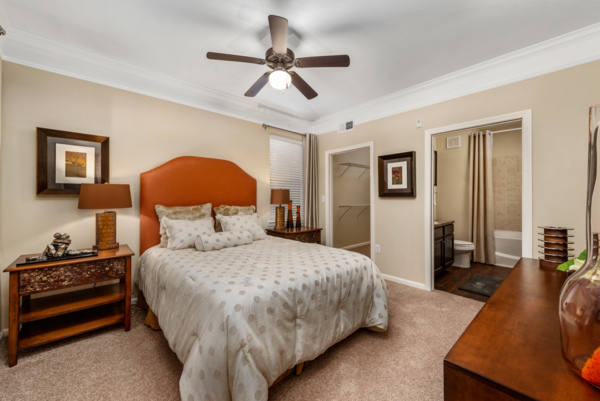 bedroom at Grand Villas at Tuscan Lakes Apartments