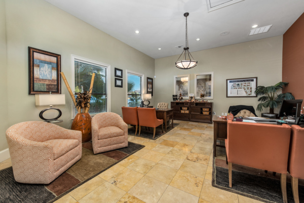 clubhouse at Grand Villas at Tuscan Lakes Apartments