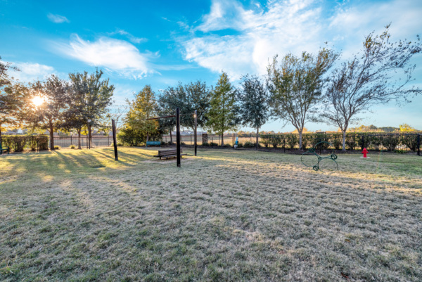 dog park at Grand Villas at Tuscan Lakes Apartments
