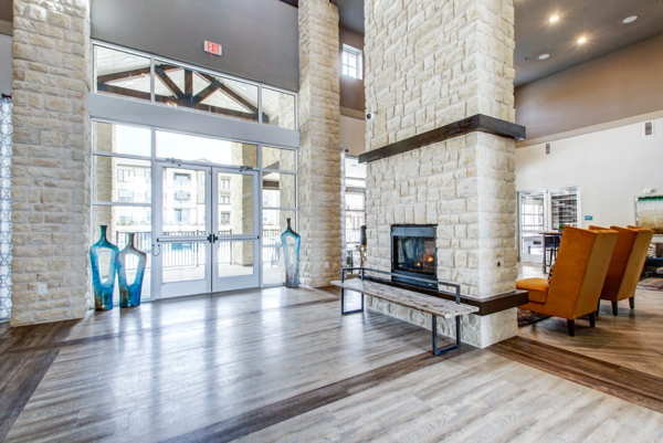 clubhouse/lobby at Enclave Falcon Pointe Apartments