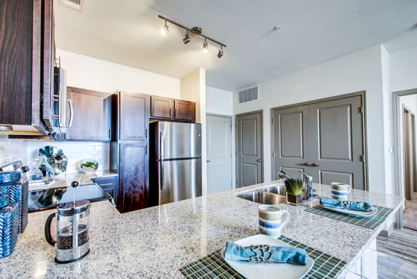 kitchen at Enclave Falcon Pointe Apartments