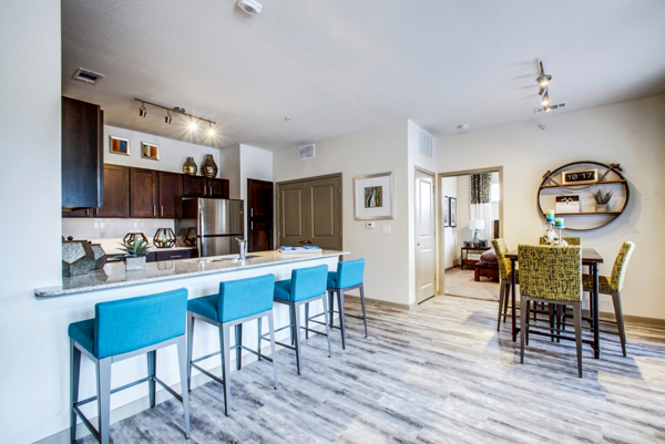 dining room at Enclave Falcon Pointe Apartments