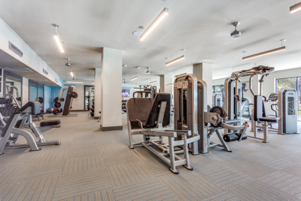 fitness center at Quest Apartments