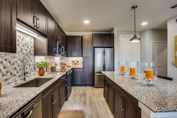 kitchen at Quest Apartments