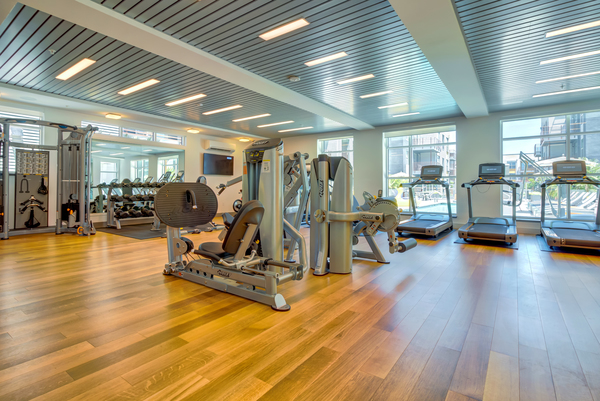 fitness center at Elan Menlo Park Apartments