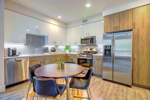 kitchen at Elan Menlo Park Apartments