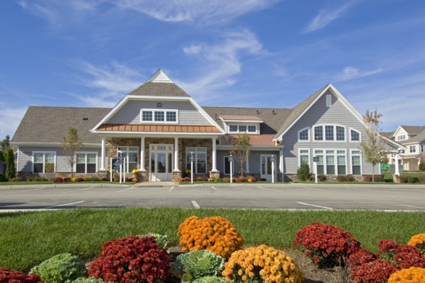 exterior at The Preserve at Cohasset Apartments