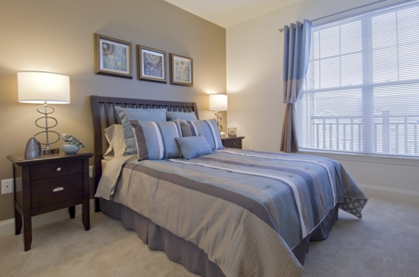 bedroom at The Preserve at Cohasset Apartments