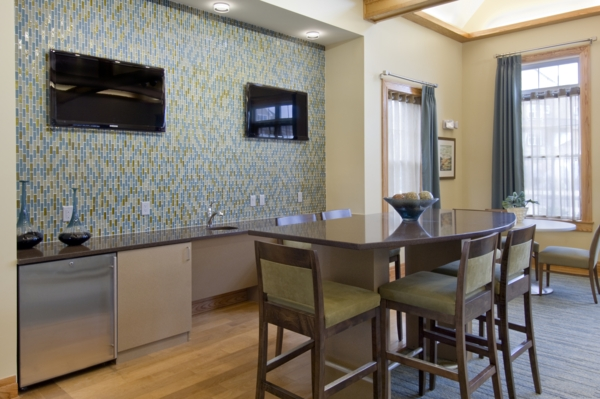 clubhouse at The Preserve at Cohasset Apartments