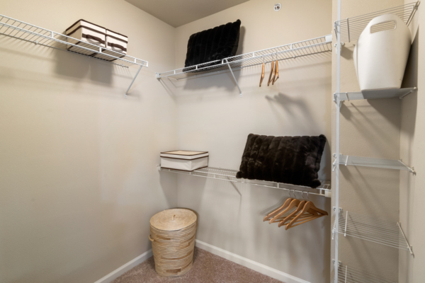 closet at Centerview at Crossroads Apartments