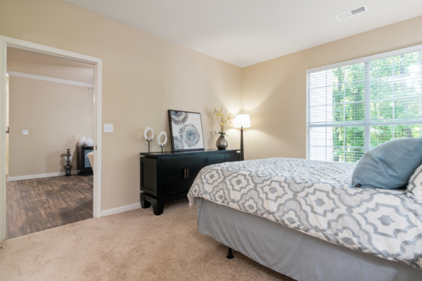 bedroom at Centerview at Crossroads Apartments