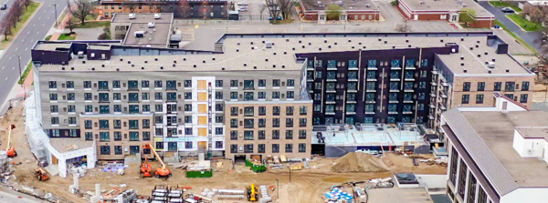 building/exterior at Millennium Edina Apartments