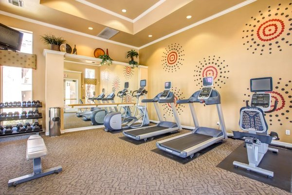 fitness center at San Paulo Apartments