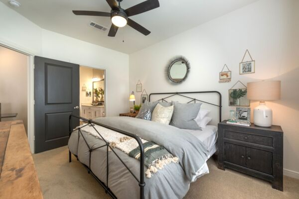 bedroom at Elan Flower Mound Apartments