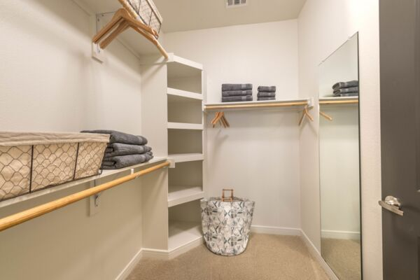 closet at Elan Flower Mound Apartments