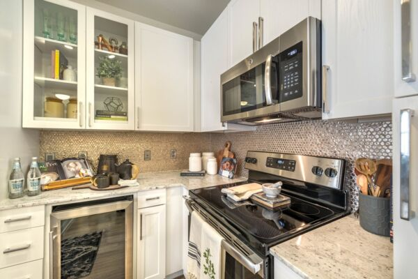 kitchen at Elan Flower Mound Apartments