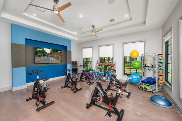fitness center at Casa Vera Apartments