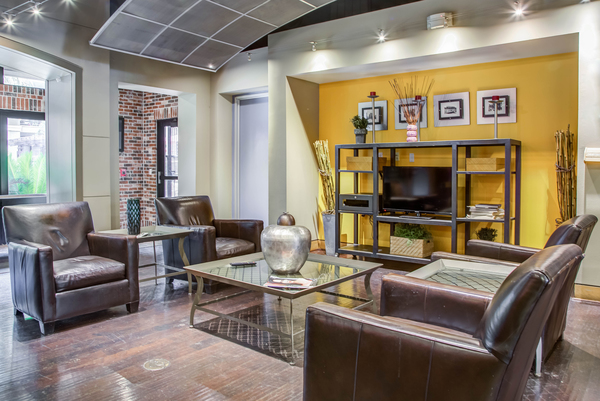 clubhouse at Lofts at the Ballpark Apartments