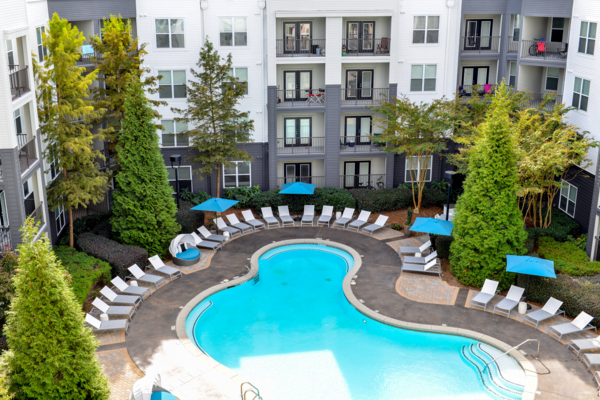 pool at Avana Westside Apartments