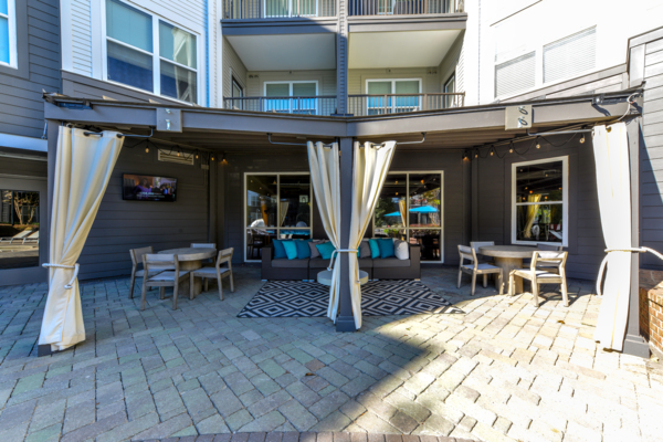 patio at Avana Westside Apartments