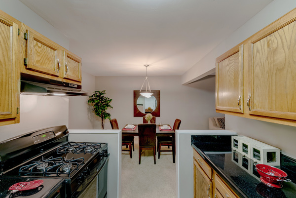 kitchen at Rollingwood Apartments
