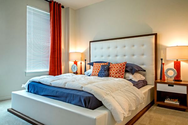 Bedroom at Watervue Apartments