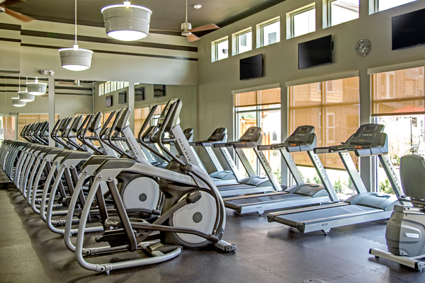 Fitness Center at Watervue Apartments