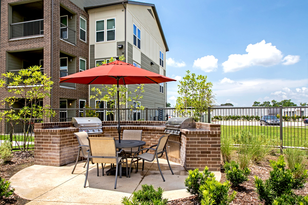 Grilling Area at Watervue Apartments