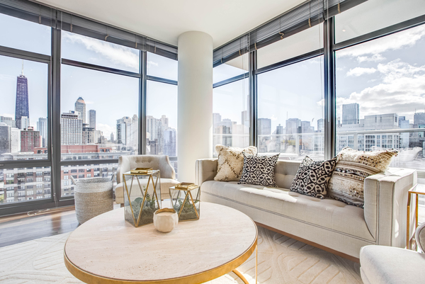 living room at NEXT Apartments