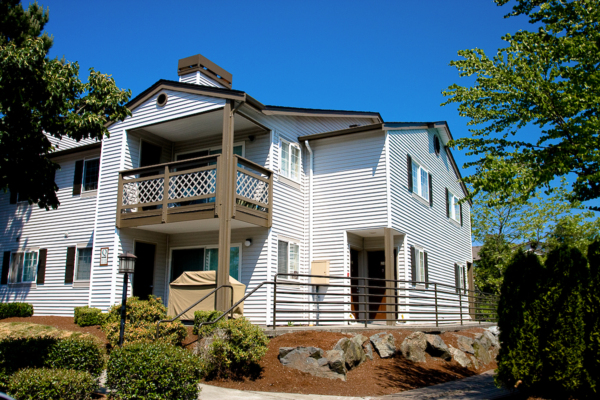 exterior at Walden Pond Apartments