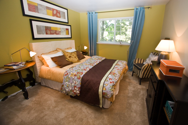 bedroom at Walden Pond Apartments