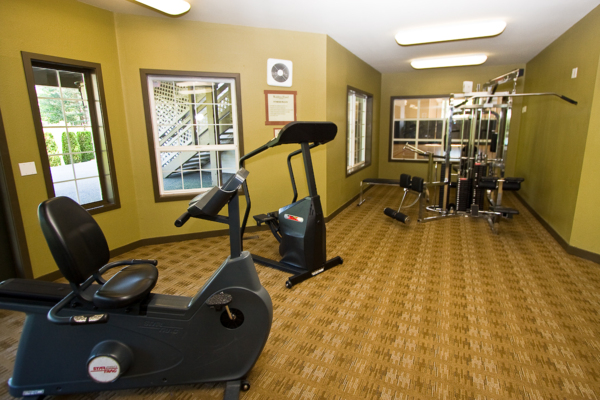 fitness center at Walden Pond Apartments