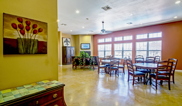 clubhouse at Bayou Reserve Apartments